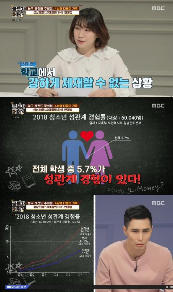 /사진= MBC 예능 '공부가 머니?' 방송 화면