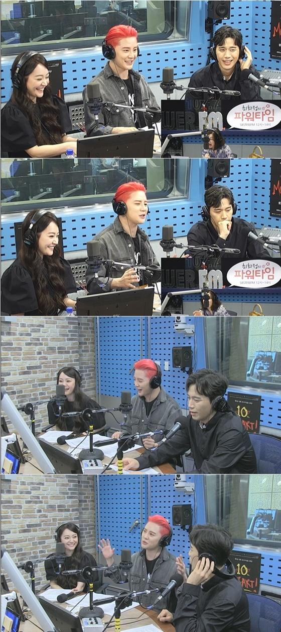 김소현, 김준수, 손준호(왼쪽부터) /사진=SBS 파워FM '최화정의 파워타임' 보이는 라디오 방송화면 캡처