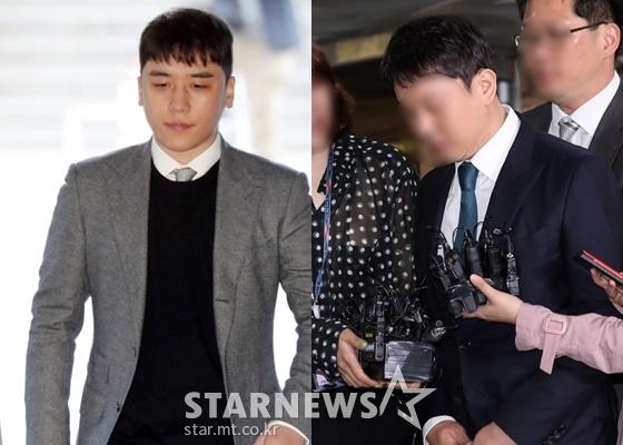 승리(왼쪽), 유인석 /사진=스타뉴스