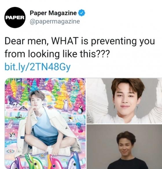 美 타임, 방탄소년단 지민 긍정적 영향력 '밈' 대표 사례 언급..'긍정의 아이콘'