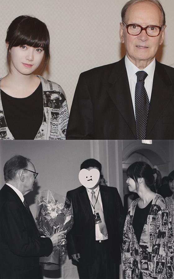 구혜선, 엔니오 모리꼬네 /사진=구혜선 인스타그램