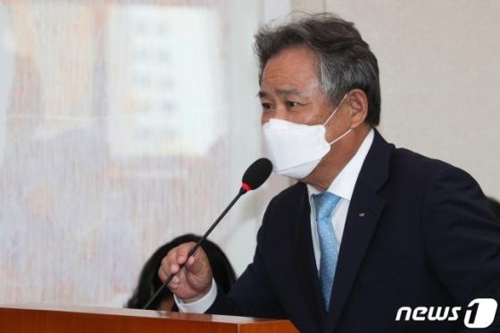 이기흥 대한체육회장. /사진=뉴스1