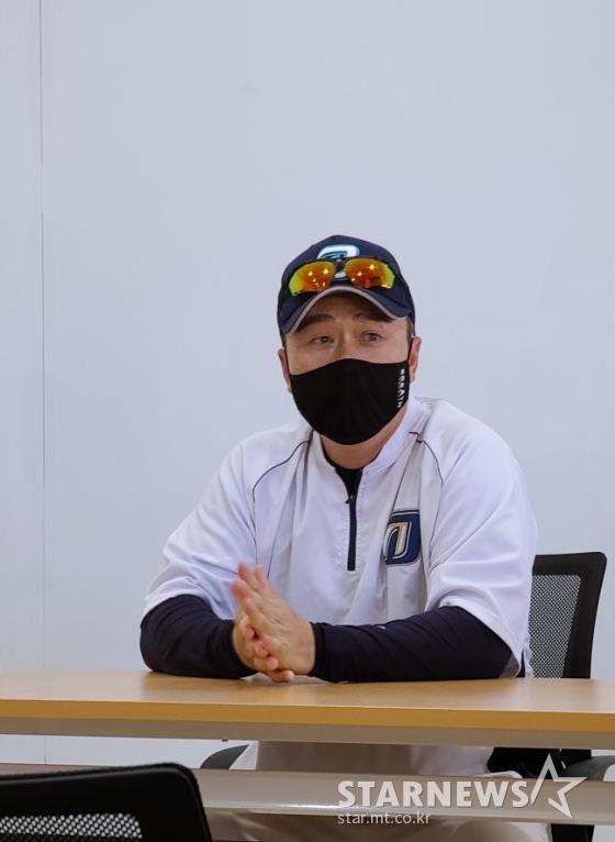 이동욱 NC 감독. /사진=김우종 기자