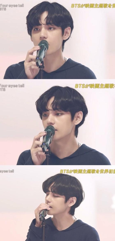방탄소년단(BTS) 뷔 /사진=일본 CDTV 방송화면 캡쳐