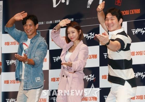 오지호, 신소율, 정의욱(왼쪽부터) /사진=이동훈 기자