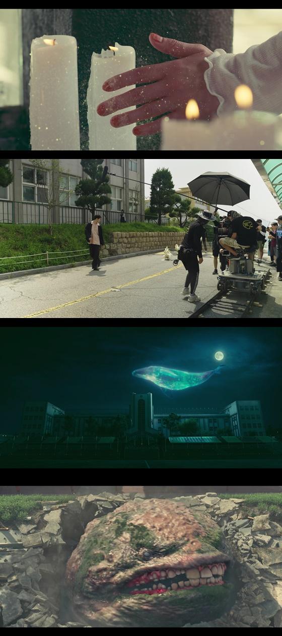 /사진=넷플릭스 오리지널 시리즈 '보건교사 안은영' 스토리 메이킹