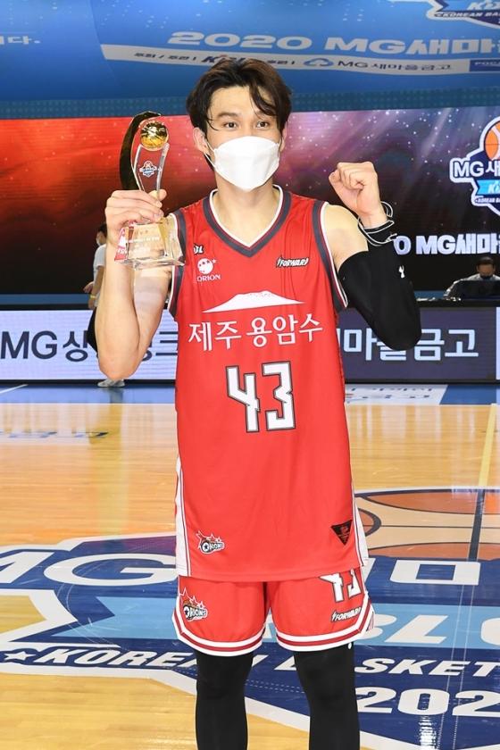 KBL 컵대회 MVP에 오른 오리온 이대성. /사진=KBL 제공