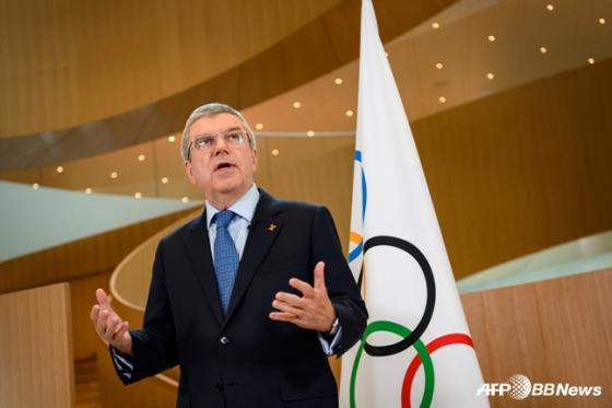 토마스 바흐 국제올림픽위원회(IOC) 위원장. /사진=AFPBBNews=뉴스1