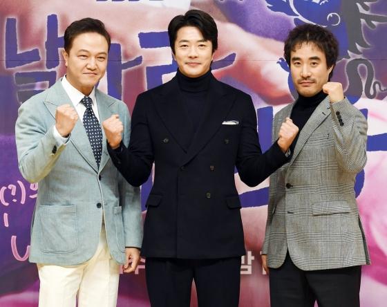 배우 정웅인, 권상우, 배성우/사진=SBS