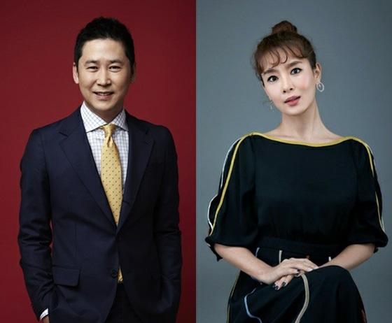 신동엽(왼쪽)과 김원희 /사진제공=SM엔터테인먼트, 크리에이티브그룹 아이엔지