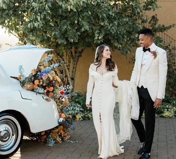 C.J 맥칼럼의 결혼 사진. /사진=C.J 맥칼럼 인스타그램 캡처