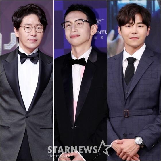 엄기준(왼쪽부터), 봉탠규, 박은석 /사진=스타뉴스