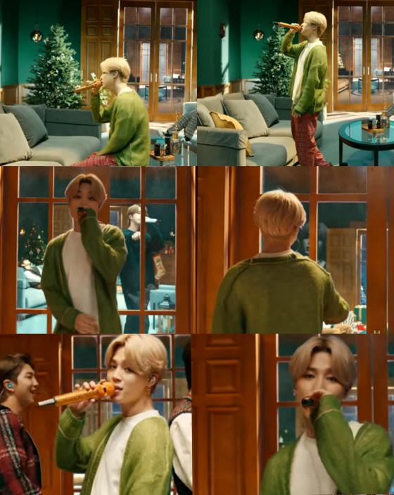 방탄소년단 지민(BTS JIMIN) /사진=미국 CBS '더 레이트 레이트 쇼 위드 제임스 코든'
