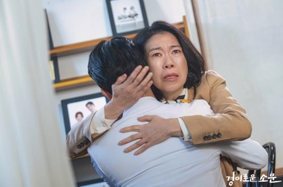 OCN 토일 오리지널 '경이로운 소문' 추매옥 역을 맡은 배우 염혜란/사진=OCN