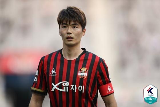 기성용. /사진=한국프로축구연맹