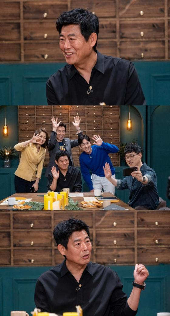 배우 성동일이 KBS 2TV '대화의 희열3'에서 두 자녀의 근황을 전했다./사진=KBS 2TV '대화의 희열3'