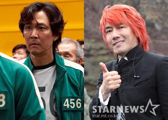 이정재와 김장훈 /사진=넷플릭스, 스타뉴스