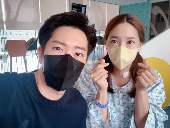 배우 민지영이 갑상선암 수술 후 근황을 전했다./사진=민지영 인스타그램