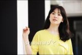 송혜교, '그 겨울' 종영 인터뷰