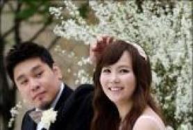 레이먼킴-김지우, 결혼식 기자회견