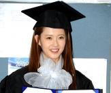 해맑은 고아라 '저 졸업했어요!'