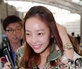 '결별설' 카라 구하라, 용준오빠 태국에서 만나요!
