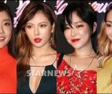 소진-현아-가인-효린 '섹시 입술 퀸은?'