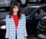채정안, '운전자 시선도 빼앗은 자태'
