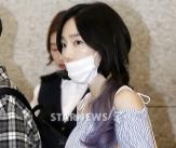 태연, '여리여리함 뽐내는 공항패션'