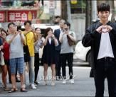 지창욱, '여의도에 나타난 꽃미남'