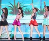 소녀시대, 우월한 기럭지 대결!