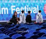 개막 준비 한창인 '제22회 부산국제영화제'