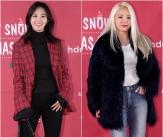 유리-효연, '개성 넘치는 겨울 패션'