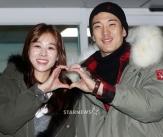 장신영-강경준, '둘이 합쳐 행복한 하트'