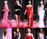 예능여신들의 드레스 열전