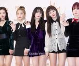 레드벨벳, '레드카펫 위 반짝이는 미모'
