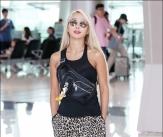 효린, '민소매+레오파드 여름 패션'