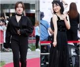 구혜선-강지영, '부천을 빛낸 블랙 여신들'