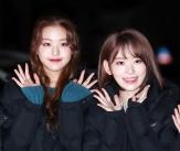 장원영-사쿠라, '승자없는 미모 대결'