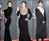 '블랙으로 우아하게' 시크한 드레스 美