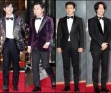 'SBS 연기대상' 男 스타들의 멋진 턱시도 패션