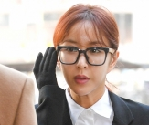 '국외 상습도박 혐의' 슈, 첫 공판 출석
