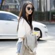 티아라, '캐쥬얼한 출근길 패션'