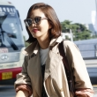 김남주, '공항에서 이미 화보 완성'
