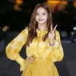 진지희-한채영, '노란색으로 통했어'