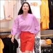 장윤주, '옷 매장에서도 런웨이 워킹'