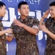 성규-지창욱-강하늘, '각 잡힌 거수경례'