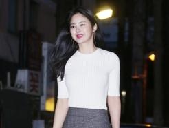 한지우, '몸매 드러난 초밀착 패션'
