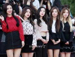 레드벨벳, '오늘도 반짝이는 미모 대결'
