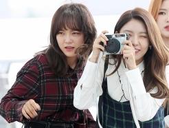 세정-나영, '우리 팬들 한번 찍어볼까'